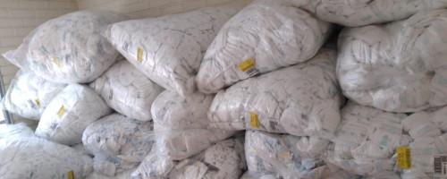 Fundación Madre Josefa recibe donación de pañales