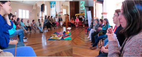 Inicio talleres 2017 en Domo Newen