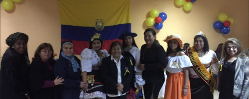 Actividades de la Fundación Madre Josefa en Iquique.