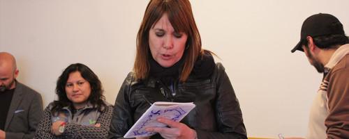 Reconocida actriz española visita Sartasim Kullakita.