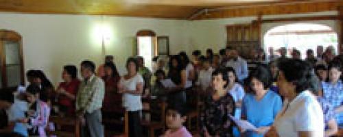 Eucaristia y rosario del Alba