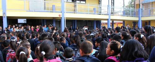 Inicio del año escolar en Colegio Santa María Eufrasia.
