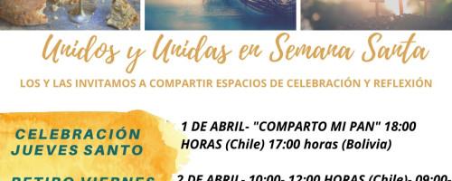 Invitación para este Jueves y Viernes Santo