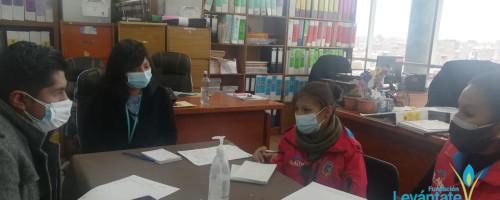 Sartasim Warmi se reúne con el Gobierno Municipal de El Alto