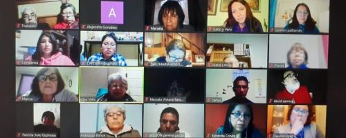 Profesores de Provincia realizan retiro virtual