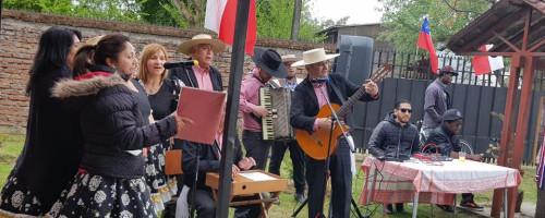 """Inmigrantes celebraron el """"Día de la Chilenidad"""""""