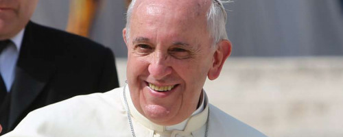 """Papa Francisco: """"Voy hacia ustedes como peregrino de la alegría del Evangelio"""""""
