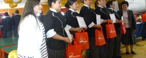 Proyecto de Capacitación Sociolaboral para Mujeres Jefas de Hogar e Inmigrantes. Certificación 2014.