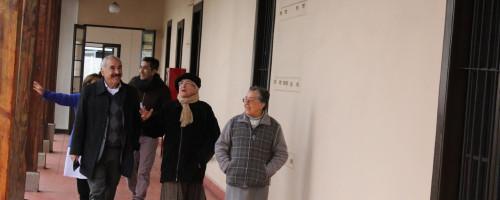 Visita del Alcalde don Patricio Freire al Conjunto Patrimonial Buen Pastor