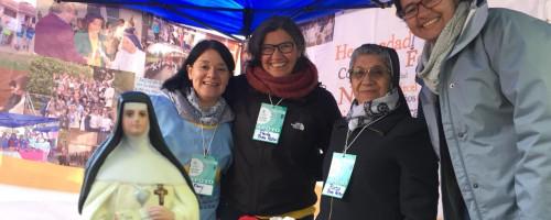 """El Buen Pastor participa en la """"Plaza de la cultura Vocacional"""" en el Santuario de Santa Teresa de los Andes."""