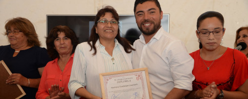 Reconocimiento a Hna. Guadalupe Lisambarth.