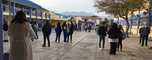 Colegio Santa María Eufrasia de Ovalle retorna a la presencialidad