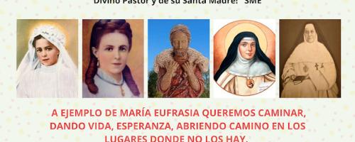 31 de julio, natalicio de santa María Eufrasia