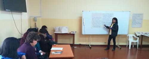 TALLER DE PREVENCIÓN DE TRATA DE PERSONAS CON FINES DE VIOLENCIA SEXUAL Y COMERCIAL