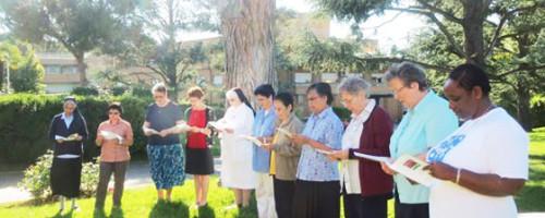 Celebración fusión de la Congregación de Nuestra Señora de la Caridad y el Buen Pastor