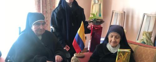 Celebración del día de Colombia en Talca