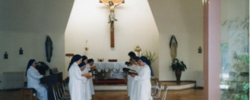 Una vida contemplativa que expresa el amor misericordioso del Buen Pastor