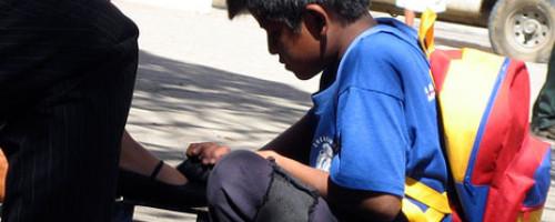 Oración por los niños y niñas obligados a trabajar
