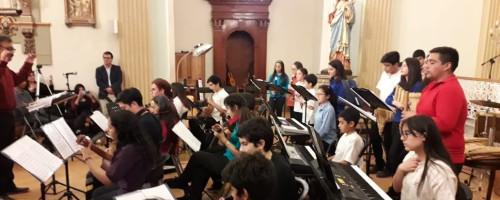 Fundación Buen Pastor patrocina encuentro de orquestas