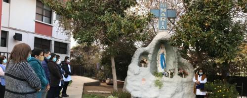 Celebración y homenaje a la Virgen de Fátima