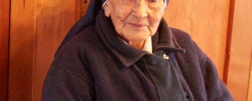 Hermana Olga Palma descansa en los brazos de Jesús Buen Pastor