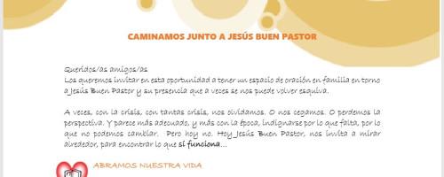 CAMINAMOS JUNTO A JESÚS BUEN PASTOR