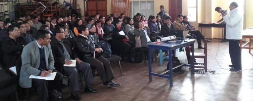 Charla con directores de Unidades Educativas