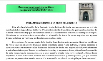 Santa María Eufrasia y el COVID 19