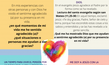 """""""La Gratitud es la memoria del Corazón"""" Santa Eufrasia"""